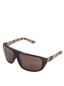 Hnedé vzorované pánske slnečné okuliare Dice