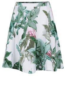 Biela vzorovaná sukňa ONLY New Rebecca