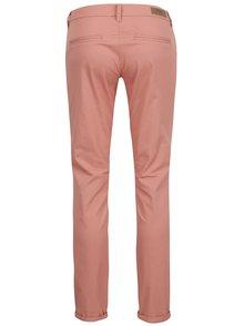 Růžové chino kalhoty ONLY Paris