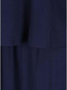 Rochie maxi bleumarin VERO MODA Super Easy cu bretele subtiri