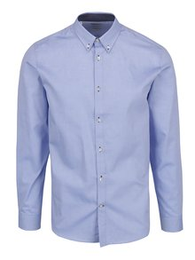 Světle modrá slim fit formální košile Selected Homme Mark