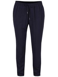 Tmavě modré volné kalhoty ONLY Nova