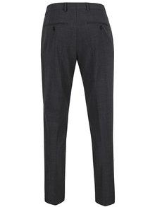 Tmavosivé oblekové nohavice Jack & Jones Wayne