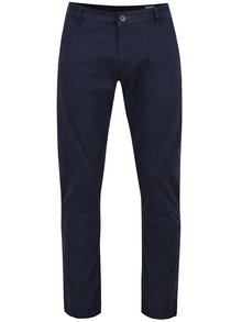 Pantaloni albastru închis Selected Homme Three Paris