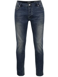 Blugi albaștri ONLY & SONS Loom slim fit cu aspect prespălat