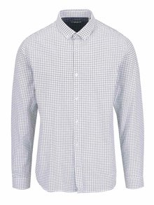 Bílá vzorovaná košile Shine Original Oxford