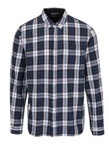 Tmavomodrá košeľa Shine Original Checked