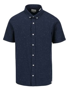 Tmavě modrá košile Shine Original Nep