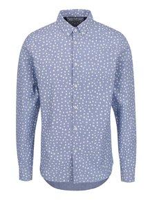 Světle modrá puntíkovaná košile !Solid Hanson