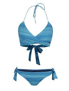 Modré dvojdielne melírované plavky Bench