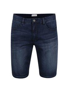 Tmavě modré džínové kraťasy Shine Original