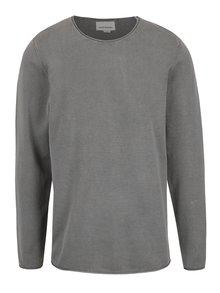 Bluză gri deschis Shine Original din bumbac
