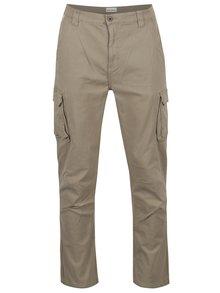 Béžové nohavice s vreckami Shine Original