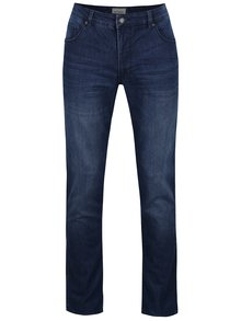 Modré džíny s vyšisovaným efektem Shine Original
