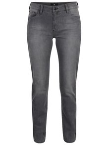 Blugi gri slim fit Cross Jeans Anya de damă