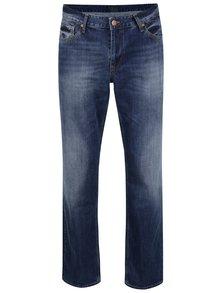 Modré pánské rovné džíny Cross Jeans Antonio