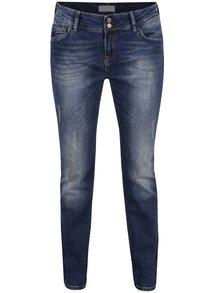 Blugi albastru închis Cross Jeans Melinda skinny fit cu talie înaltă și aspect deteriorat