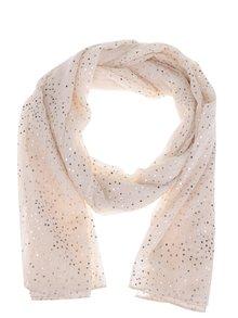 Béžový puntíkovaný šátek Dorothy Perkins