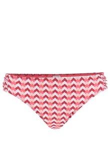 Slip roz&roșu Dorothy Perkins cu imprimeu zig-zag