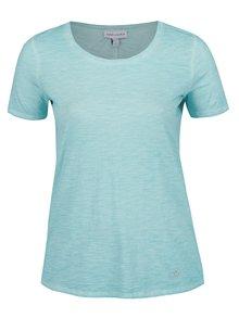 Modré žíhané tričko s krátkym rukávom Gina Laura