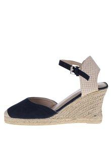 Sandale crem&albastru Dorothy Perkins