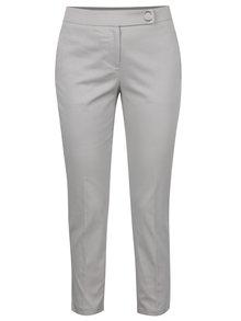 Sivé skrátené nohavice Dorothy Perkins