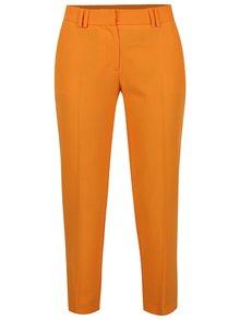 Oranžové skrátené nohavice Dorothy Perkins