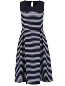 Krémovo-modré pruhované šaty Dorothy Perkins
