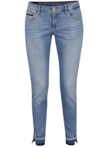 Svetlomodré skinny rifle s detailmi Calvin Klein Jeans High Mr