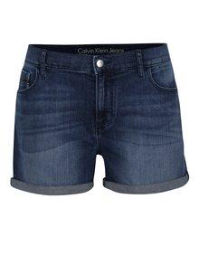 Modré dámské kraťasy Calvin Klein Jeans