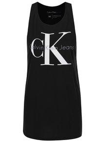 Černé dámské dlouhé tílko s potiskem Calvin Klein Jeans Tyler