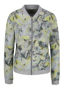 Šedo-zelený dámský oboustranný bomber Calvin Klein Jeans Holly