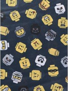 Žlto-sivá chlapčenská šatka s potlačou LEGO Wear Ayan