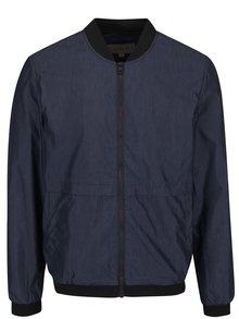 Tmavomodrý pánsky bomber Calvin Klein Jeans Ondo 1