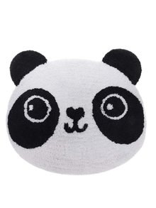 Covoraș alb & negru Sass & Belle în formă de urs panda