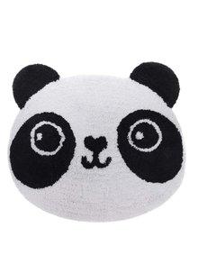 Čierno-biely koberec v tvare pandy Sass & Belle