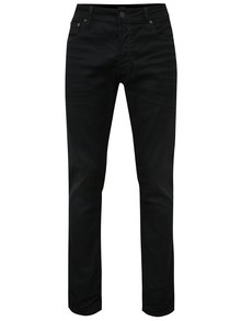 Blugi slim negri Jack & Jones Tim