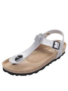 Sivé dámske sandále s prackou OJJU