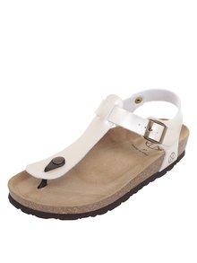 Krémové dámské sandály s přezkou OJJU