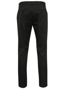 Tmavosivé oblekové slim fit nohavice Jack & Jones Roy