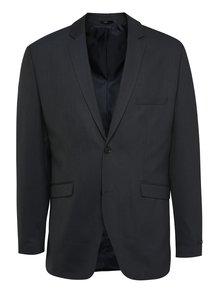 Tmavomodré oblekové sako Jack & Jones Wayne