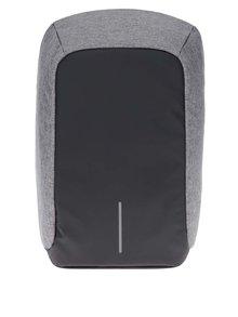 Sivo-čierny nevykradnuteľný veľký unisex batoh XD Design Bobby