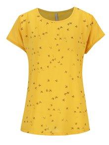 Žluté tričko s krátkým rukávem YAYA
