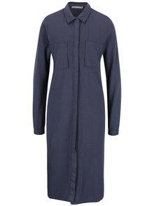 Modré šaty s kapsami YAYA