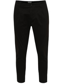 Pantaloni chino negri ONLY & SONS Hale