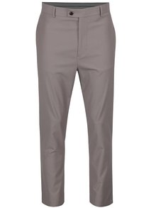 Pantaloni bej Burton Menswear London cu model discret