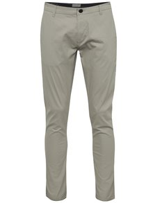 Světle šedé chino kalhoty ONLY & SONS Torp