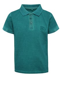 Tricou polo verde name it Tern din bumbac organic pentru băieți