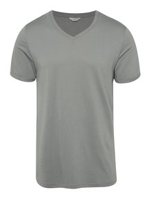 Tricou basic gri Jack & Jones Trancer