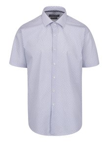 Bílá vzorovaná neformální košile Seven Seas